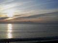 三浦半島三戸浜の夕陽。美しい!