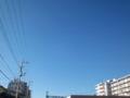 今日台風上陸とか言ってなかったか?雲一つ無いんですけど。