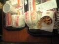 ハンバーガー…なう…