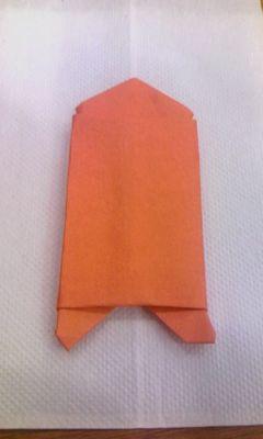 またまた、嫁の @dante_39 が折った創作折り紙。判った人にははてなポイ