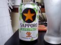 サッポロ生ビール黒ラベル2009限定醸造。昨日のキリンとはまた違う香