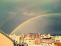 ばらスィー二重の虹!