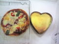 今日の料理教室 ピザとチーズケーキ。簡単に作れるのが素晴らすぃ。