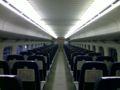 ひかりレールスターの指定席は、こんなに広いのです。
