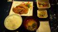学生さんが作った定食!さすが普通の学祭とは格がちがう。これで500円