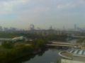 今朝の大阪城公園
