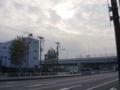 曇り@東雲。りんかい線(埼京線)定刻通り (twitter from DSC-G3) #DSCG3