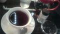 喫茶ルノワール 黒豆茶 思いの外おいしゅうございました
