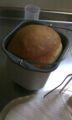 どやさ ひさびさにパン作り再開、といってもパン焼き機が作ってくれ