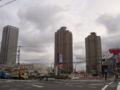 曇り@東雲。   (twitter from DSC-G3) #DSCG3