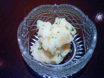 おつまみ:ピリ辛タラモサラダ