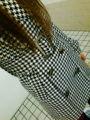 今日エゴイストで買った千鳥格子のコート☆