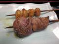 軍鶏鍋@恵比寿 レバーがこんなに美味しいなんて感激! 連れていって