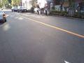ゴミ拾いなう!!今日は東京都市大学の学生さんが多数参加してくれた