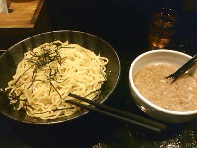 近所の天鳳にきました。つけ麺。