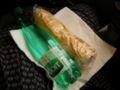 ベヨータでサンドイッチを作ってくれました☆TGVの車内にて。(一週間