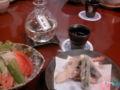 久々の懐石料理でした。 ウニを久し振りに食べた。