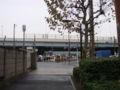 雨@東雲。りんかい線(埼京線) 3 分遅れ  (twitter from DSC-G3) #DSCG3