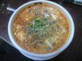 今日はスーラー担にしました。麺はいける気しないのでスープで。体は