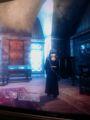 オブリのスキングラードの家の自分の部屋にて。地下+3F建ての3F