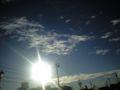 いい感じに撮れました。見事に晴れ。愛知県知多市。