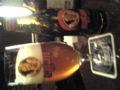 今日飲んだビール。サタンレッド。ベルギーのビールで程よい苦みと甘