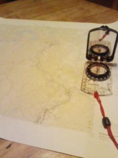 地形図で遊ぶ、楽しい。次の週末は田茂沢に行こうかな。