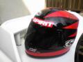 たまに使ってます。松本レプリカヘルメット。