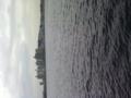 珍しくウインドサーファーがいない江ノ島。