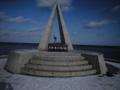 宗谷岬にいます。私ひとりです。他誰もいません。来年こそは夏にバイ