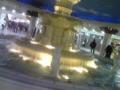 梅田地下街の泉の広場。噂の「赤い服の女」もいないようで安心。