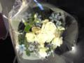 今日のフリー用のお花。