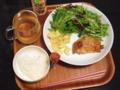 夕飯食べた。
