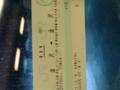 金沢→東京→山梨→金沢でこんな切符