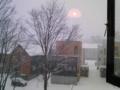 朝、起きたら雪の国