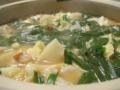 ネット通販で話題の博多・若杉のもつ鍋。うまい!スープが絶品!しめ