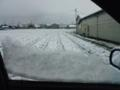 初雪でごさる