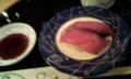 旦那と待ち合わせて、廻るお寿司屋へ。たまの外食は主婦の癒しですな