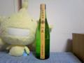 今晩の酒。初霞特別純米酒。パルコで1300円。