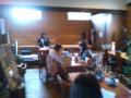 ごご3時頃、那須町山梨子にある「さくらさくら」で大滝早苗さんのア