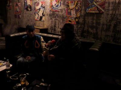 ageHa楽屋にて、MADEMOISELLE YULIAさんのスペシャの番組「マドモワールド」