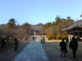 仁和寺なう。空気が澄んでて静か。日差しも暖かい。御殿の庭 園の完