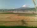 富士山なう。つぎにお目に掛かるのは31日ですね。