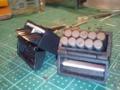 換え刃ホルダー完成。対戦車ライフルの弾入れ加工。