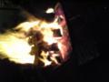 小雨の中忘年会で焚火納め。