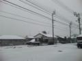 そして雪ですわ