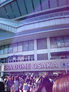 京セラドーム到達。地下鉄は100%関ジャニ∞ファン状態でした。