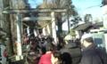 武蔵野神社 長蛇の列の為、サイド攻撃を実施。