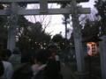 ★必殺初詣( ̄Д ̄;;★ 家の近所のマイナーなインディ系神社なのに初