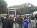 熱田神宮、鳥居くぐったら参拝待ち…こんなに多いとは!